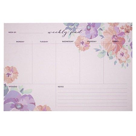 Nota De Planner Semanal 60 Paginas