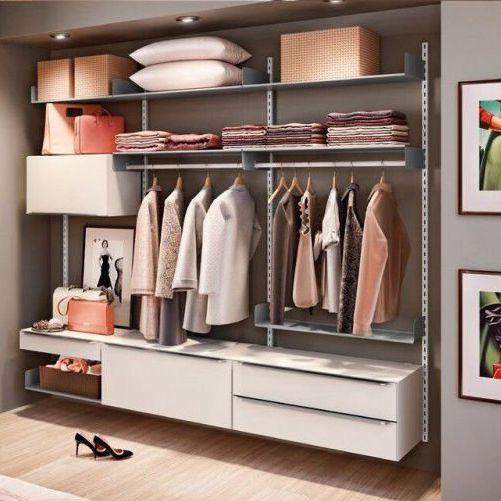 Closet Completo (06) - Linha Move com Largura 2,20 m