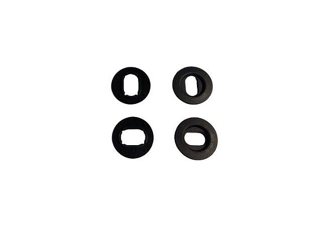 Jogo De Peças Fixação Tapete Polo Golf VW 3D0898501B71N