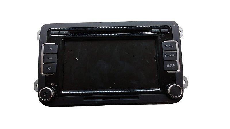 Radio Touch Amarok Jetta Novo Fusca Original 5k0035190B