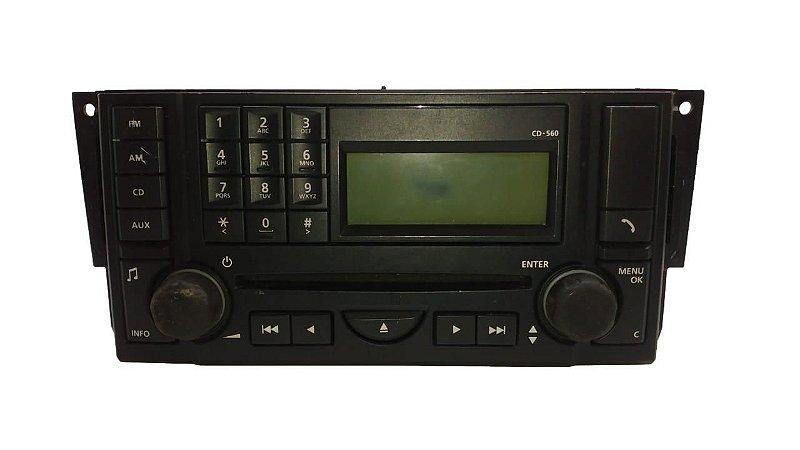 Radio Range Rover Sport 2008 Original 8H3218C815DA