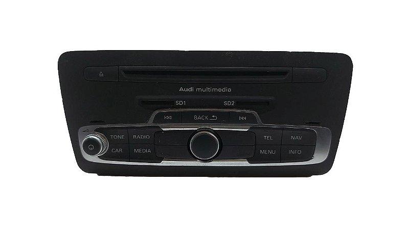 Rádio Audi A1 2011/2014 Original 8X0035754E