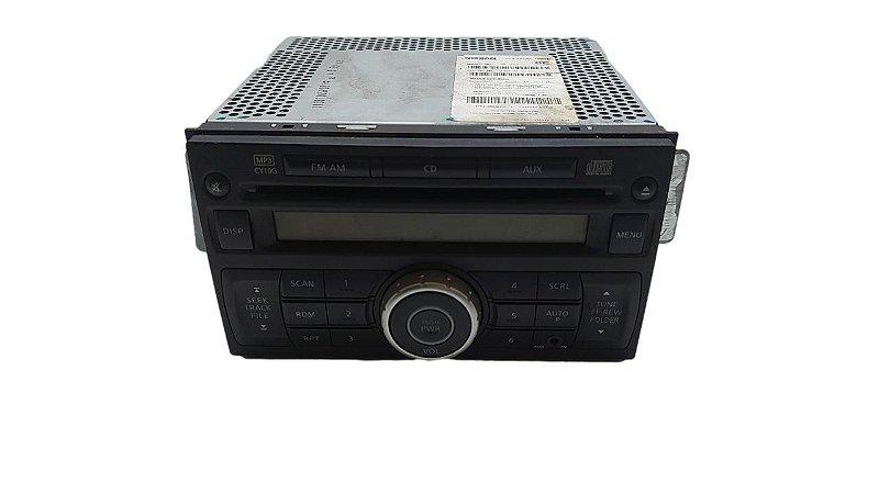 Radio Cd Player Nissan Tiida 2011/2012 Original 28185ZW80E