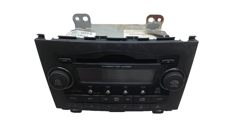 Radio Multimidia Honda Cr-v 2007/2011 Original 39100SWAA003