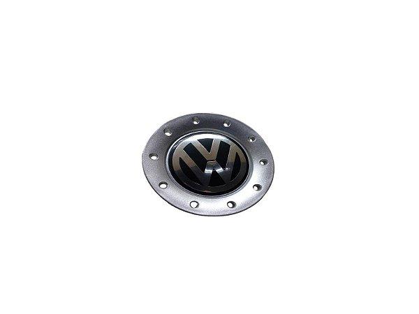 Calota Central Roda VW Polo 2002>2009 Aro 15 6Q0601149GGRB