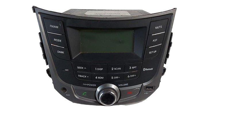 Rádio Hyundai HB20 2013/2016 Original 961401s1004x