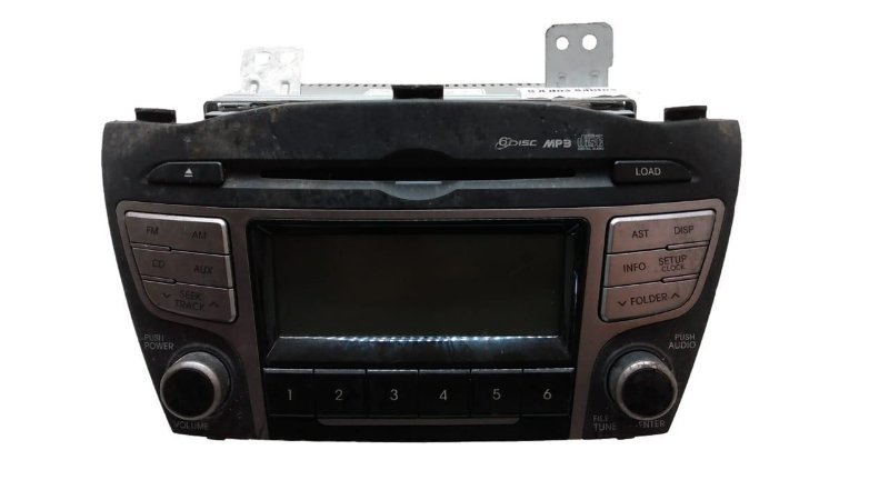 Radio Mp3 Hyundai Ix35 2010/2011 Original 961702s340TAN