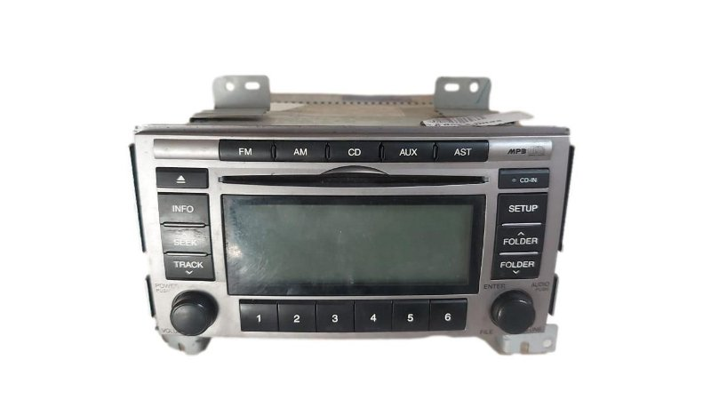 Radio Som Hyundai Santa Fé 2010/2012 Original 961802b130