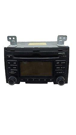Rádio Som Mp3 Original Hyundai I30 2009/2012 961602l500