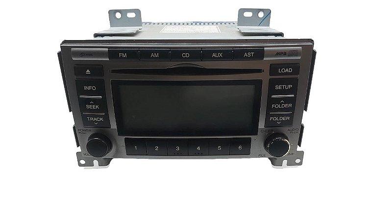 Radio Cd Mp3 Hyundai Santa Fé 2008/2010 Original 961902b130bs