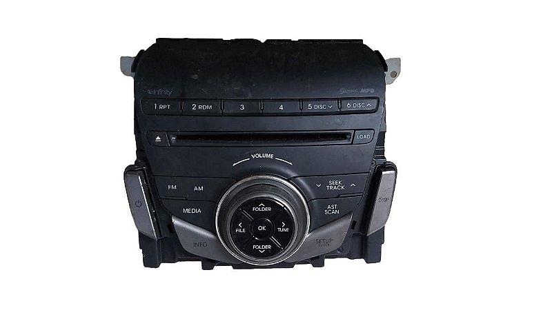 Radio MP3 Hyundai Azera 2011/2014 Original 961903v3514x