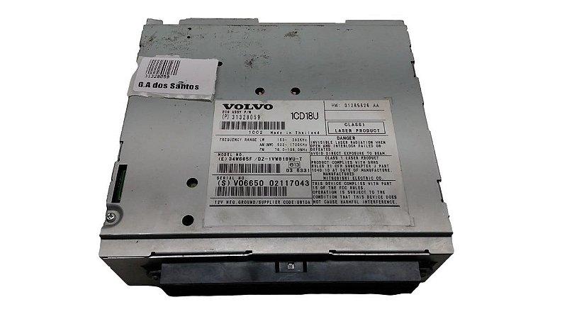 Radio Cd Player Volvo C30 T5 2010 Original 31328059