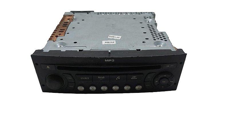 Radio CD Player Citroen C4 2009/2010 Original 96649345xt