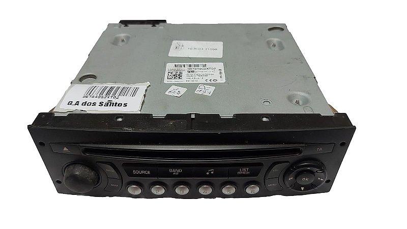 Rádio Cd Player Peugeot 3008 1.6 Thp 12/17 Original 96784952XT02