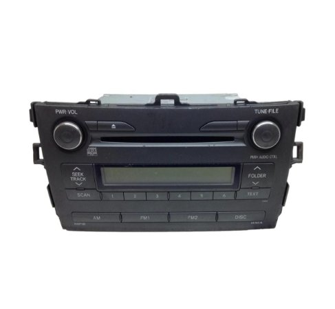 Rádio Som CD Toyota Corolla 2009/2013 8612002850A