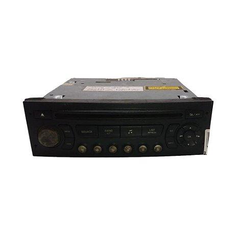 Radio CD Player Peugeot 307 2000/2012 Original 7645038392