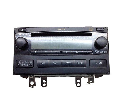 Rádio Automotivo CD Toyota Corolla 03/08 0860012804