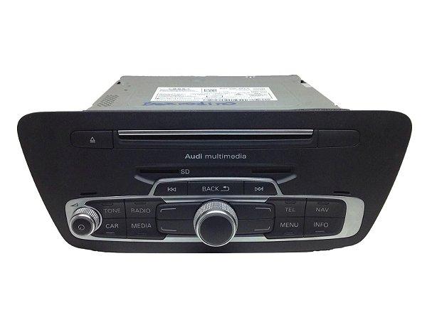 Unidade Rádio Multimídia Original AudiQ3 RSQ3 8U1035183A