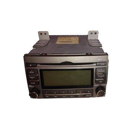 Rádio MP3 Hyundai Azera 2009 2010 961853L500AM3G