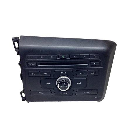 Rádio CD Player Honda Civic 13/15 39100TT4M11