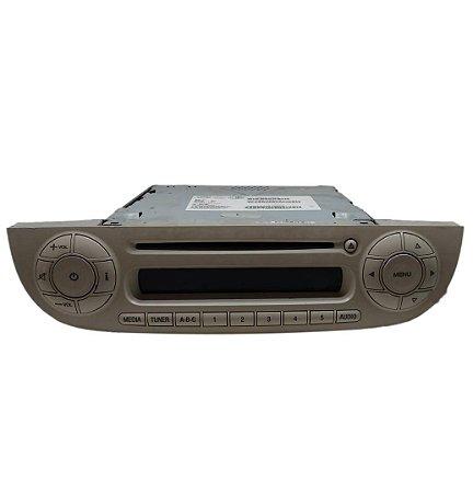 Radio CD Player FIAT 500 2012 BEGE Original 28317095