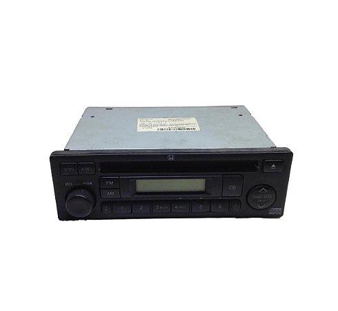 Rádio CD Player Honda Fit 2005 08A52SAD800001