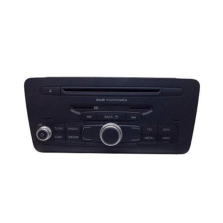 Rádio Unidade de Comando Audi A1 2011/2014 8X0035180G