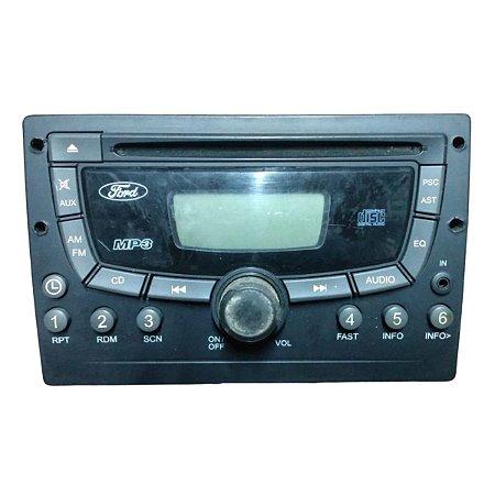 Rádio CD MP3 Ford Ecosport 2008 6N1518C939AB