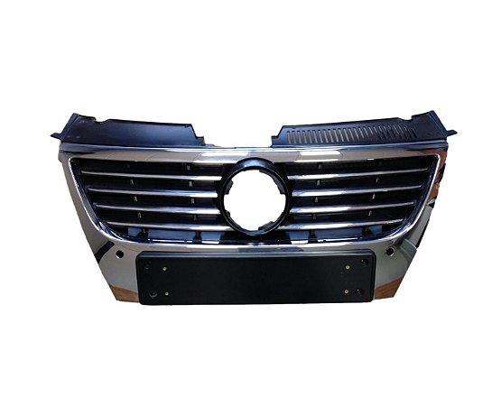 Grade Frontal C/ Furo De Sensor Passat 2008 3C0853651AFPWF