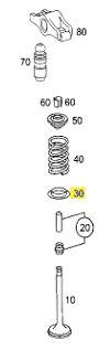 PRATO INFERIOR VALVULA C180 CGI A270 A2710530725