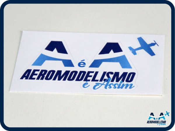 Adesivo Aeromodelismo é Assim Pequeno