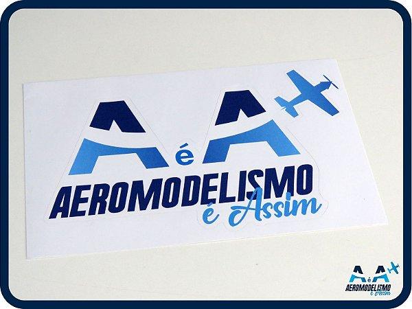 Adesivo Aeromodelismo é Assim Grande