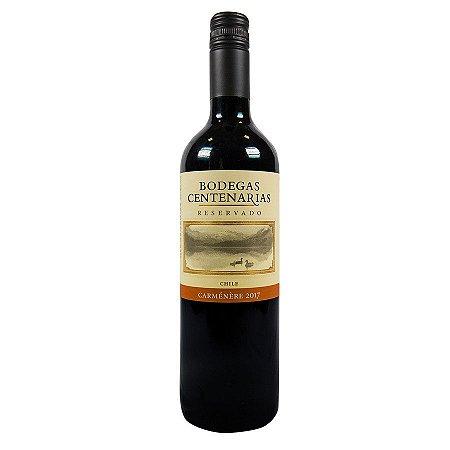 Vinho Tinto Bodegas Centenárias Carmenere Santa Rita 750ml
