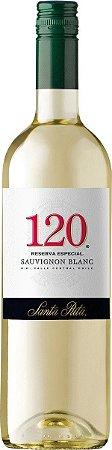 Vinho Branco 120 Reserva Especial Sauvignon Blanc Santa Rita 750ml