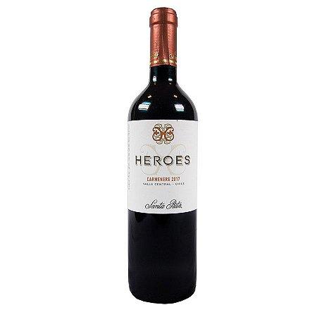Vinho Tinto Heroes Carmenere Santa Rita 750ml