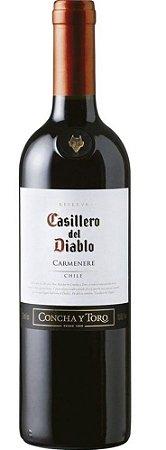 Vinho Tinto Casillero Del Diablo Reserva Carmenere 750ml