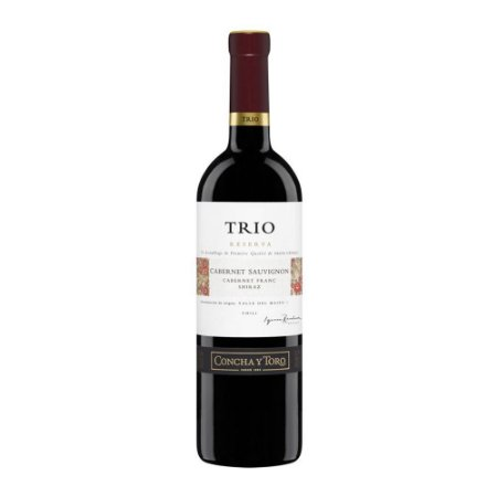 Vinho Tinto Concha Y Toro Trio Reserva Cabernet Sauvignon 750ml