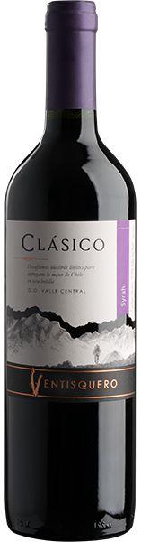 Vinho Tinto Ventisquero Clasico Syrah 750ml