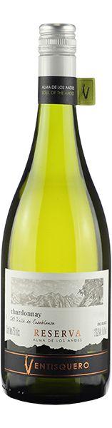 Vinho Branco Ventisquero Reserva CasaBlanca Chardonnay 750ml
