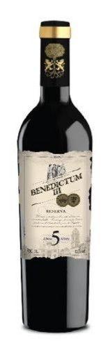 Vinho Tinto Benedictum III Reserva 5 Anos 750ml