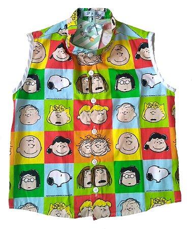 Camisa Cavada Turma do Snoopy