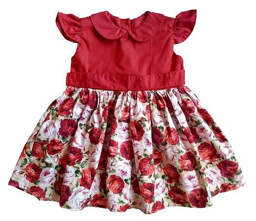 Vestido Marina saia Floral
