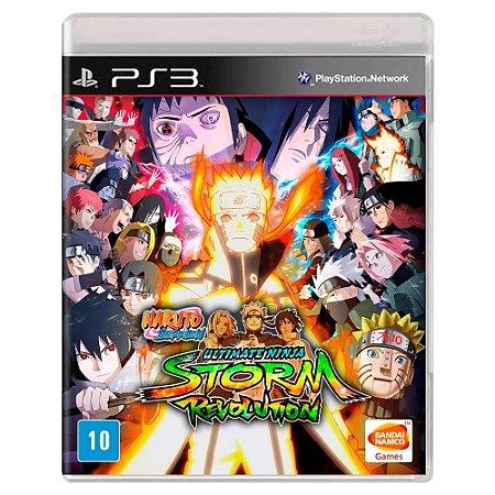 Naruto Shippuden: Ultimate Ninja Storm Revolution (Usado) - PS3