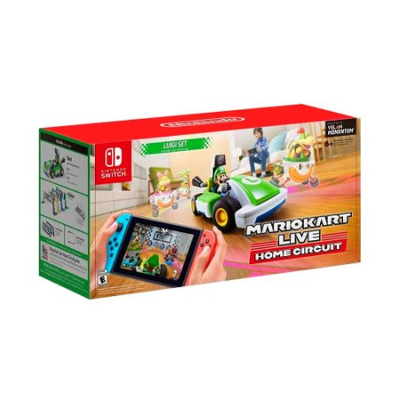 Mario Kart Live Home Circuit - Luigi Set - Switch