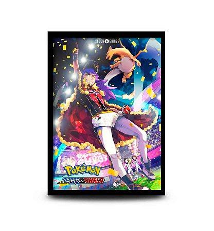 Quadro Pokémon Sword and Shield Versão 2 - 32,5 x 43cm