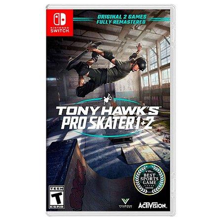 Tony Hawk's Pro Skater 1+2 - Switch