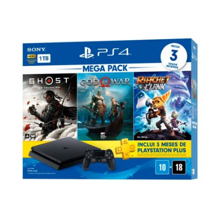PlayStation 4 Slim 1TB Hits Bundle V18