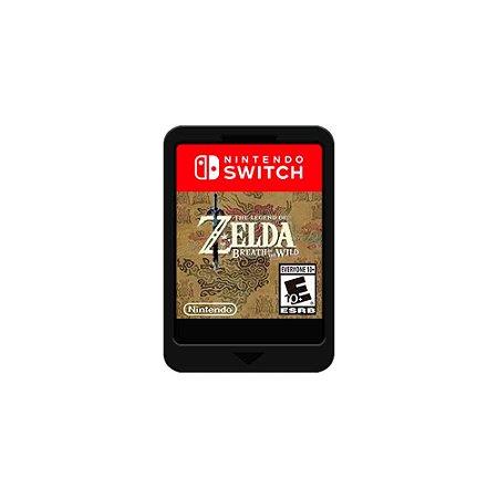 The Legend of Zelda: Breath of the Wild (SEM CAPA) (Usado) - Switch