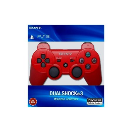 Controle Dualshock 3 - Vermelho