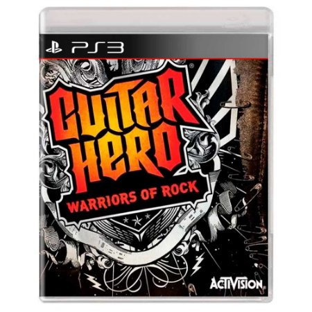 Guitar Hero: Warriors of Rock (Usado) - PS3